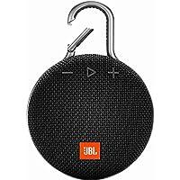 JBL Clip 3 便携式防水无线蓝牙扬声器JBLCLIP3BLKAM