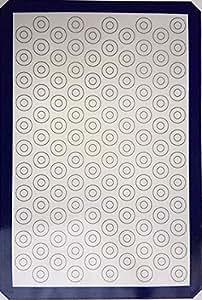 带金刚石图案的烘焙垫 深蓝色 1-pack, full-sheet, mini MAT2FDB