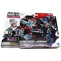 KRE-O TRANSFORMERS kreon BATTLE changers Autobot ratchet VS soundwave 2件装