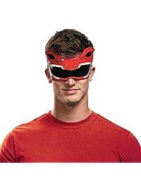 Disguise 男士红色游骑兵成人 1/4 面具服装配饰