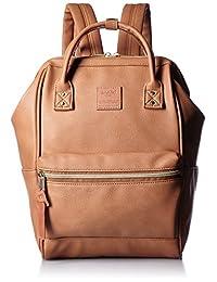 [ Anello ] [ 公式 ] 旅行背包金人造皮革背包小 at-b1212
