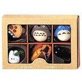 吉卜力工作室 龙猫 吉卜力收藏组合 龙猫 带有球链的吉祥物 高9cm
