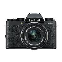 Fujifilm X-T100 摄像机带 XC15-45 mm 镜头16582892 黑色