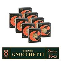 Cinque Terre Pasta Organic Durum Wheat Bronze Die Cut Italian Pasta, Gnocchetti, 16 Ounce (Pack of 8)