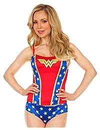 Wonder Woman 紧身胸衣/全身印花内裤