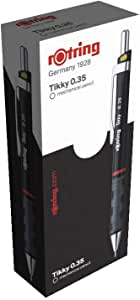 rOtring Tikky 自動鉛筆 HB 0.35 12er-Box 黑色