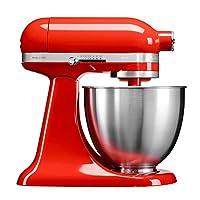 KitchenAid 凯膳怡 3.3L全功能厨师机,满足三口之家使用 (暖橘红/5年质保/220V电压 【12月10日-12月12日】同价黑五,低至2999元