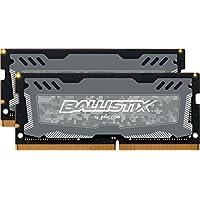 ballistix SPORT LT 单 DDR 42666mt/s SR X8sodimm 260-pin 32GB Kit (16GBx2) Dual Ranked