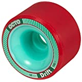 chaya Octo Wheels, Drift 100A, 4 件滑板鞋配件,红色,59 毫米