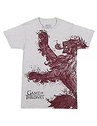 《权力的游戏》* Lannister 狮子图案成人 T 恤