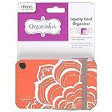 Mead Organizher Loyalty 卡片收纳盒,6.35 cm x 10.80 cm (WUN10138)