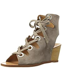 DOLCE VITA 女式 LEI 坡跟凉鞋