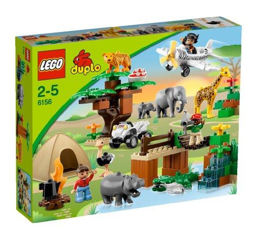 【美国亚马逊】  乐高lego拼装积木玩具得宝大颗粒 l6156动物园全家福