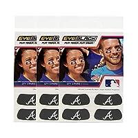 EyeBlack(12 条装 - 美国职业棒球大联盟棒球队 MLB *黑色防眩光条,适合球迷和运动员在比赛日、体育团队上使用