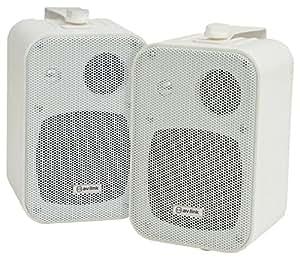 AV Link B30-W 3 向扬声器带壁挂安装支架 - 白色(2 个装)100.006UK