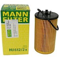 MANN 德国曼牌 机油滤清器HU612/2X 老款科鲁兹/新景程1.8L/英朗1.6L 1.8L/新君威1.6T