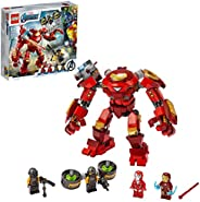 LEGO 乐高 漫威超级英雄 钢铁侠反浩克装甲大战 A.I.M. 特工 76164