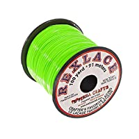 Pepperell Crafts Rexlace - 100 码线轴,苹果绿