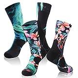 *** 防水透气短袜 [ SGS 认证 ] randy SUN 中性款新奇 SPORT 滑雪 TREKKING 徒步袜子1双装