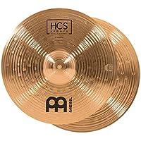 Meinl Cymbals 14 英寸远顶帽(高帽)一对 – HCS 传统抛光青铜鼓套装,德国制造,2 年保修(HCSB14H)