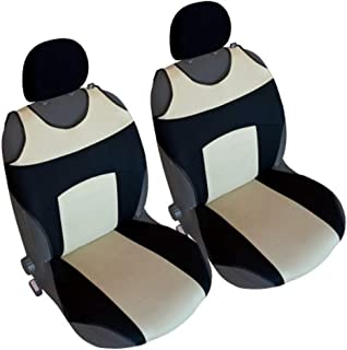Akhan CSC303 - 1 对座套座垫 座椅套 黑色 / 米色