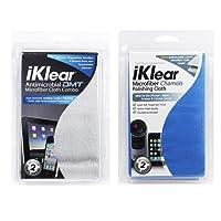 美国iKlear IK-DMT-MCK大尺寸超细鹿皮布及抗菌布组合 光学级别屏幕擦拭布 屏幕、外壳、镜头
