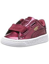 PUMA Kids' 篮心形 GLAM 运动鞋
