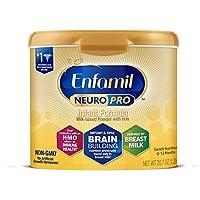 Mead Johnson 美赞臣 NeuroPro婴儿奶粉-0-12个月,可重复使用的奶粉桶,20.7盎司/约586.84克