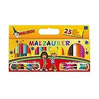 Malinos 300005 – 神奇画笔 12支, 25er Set Zauberstifte