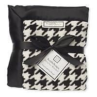 SwaddleDesigns Stroller Blanket, Puppytooth 黑色