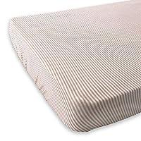Bamboom 104-161-059 床垫套,粉色 - 条纹白色/粉色