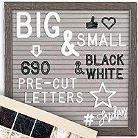 Little Hippo 字母板 - 父母 10X10 灰色边框