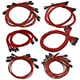 EVGA Power Supply Cable Set 红色