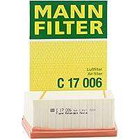 MANNFILTER 曼牌滤清器 空气滤清器C17006(嘉年华1.6/翼博1.0/1.5L)