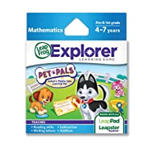 LeapFrog Explorer 宠物朋友学习游戏(与 LeapPad 平板电脑、Leapster GS 和 Leapster Explorer 配套使用))