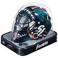 Franklin Sports NHL 联赛标志迷你守门员面具