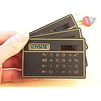 King's Store 8 位数超薄迷你信用卡设计太阳能口袋计算器