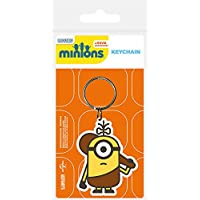 Pyramid International Minions Cro-Minion 橡胶钥匙链,多种颜色,4.5 x 6 cm