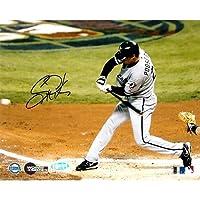MLB 芝加哥白袜队 Scott Podsednik 2005 WS 4 三重 8x10 照片