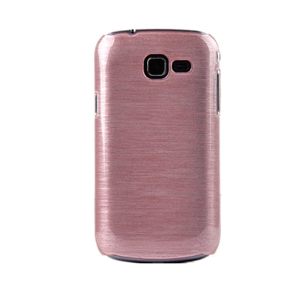 摩品 三星 i699 s7562i s7572 水晶拉丝 手机套 手机壳 胭脂粉