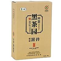 中粮中茶 安化黑茶 精研黑砖400g 百年木仓 传统工艺 湖南黑茶