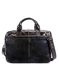 真皮公文包 商务邮差包 手提包 男式手提包