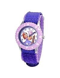 """Disney W001067""""Sofia"""" 儿童不锈钢计时师手表"""