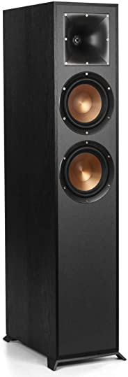 Klipsch 杰士 R-620F 家用客厅家庭影院落地音箱音响前置号角高保真大功率立体声环绕超重低音炮 黑色