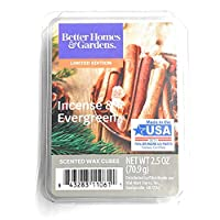 Better Homes & Gardens 香薰蜡立方体,2019 限量版 Incense & Evergreen 2.5盎司
