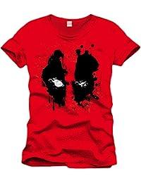 Deadpool Face T-Shirt red