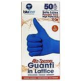 bluline 乳胶手套,高厚,尺寸 L * 50