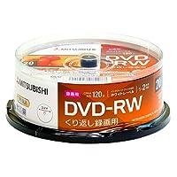 三菱化学媒体 重复录像用 DVD-RCPRM 120分钟 202004VHW12NP20SD1-B  20枚パック(スピンドル)