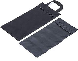 ACKEIVTO 瑜伽沙袋 – 双袋带内部防水袋 – 用于增加重量和支撑力