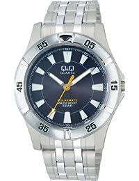 [西铁城 Q&Q]CITIZEN Q&Q 手表 SOLARMATE 光动能 指针式 5个大气压防水 黑色 H968-202 男式